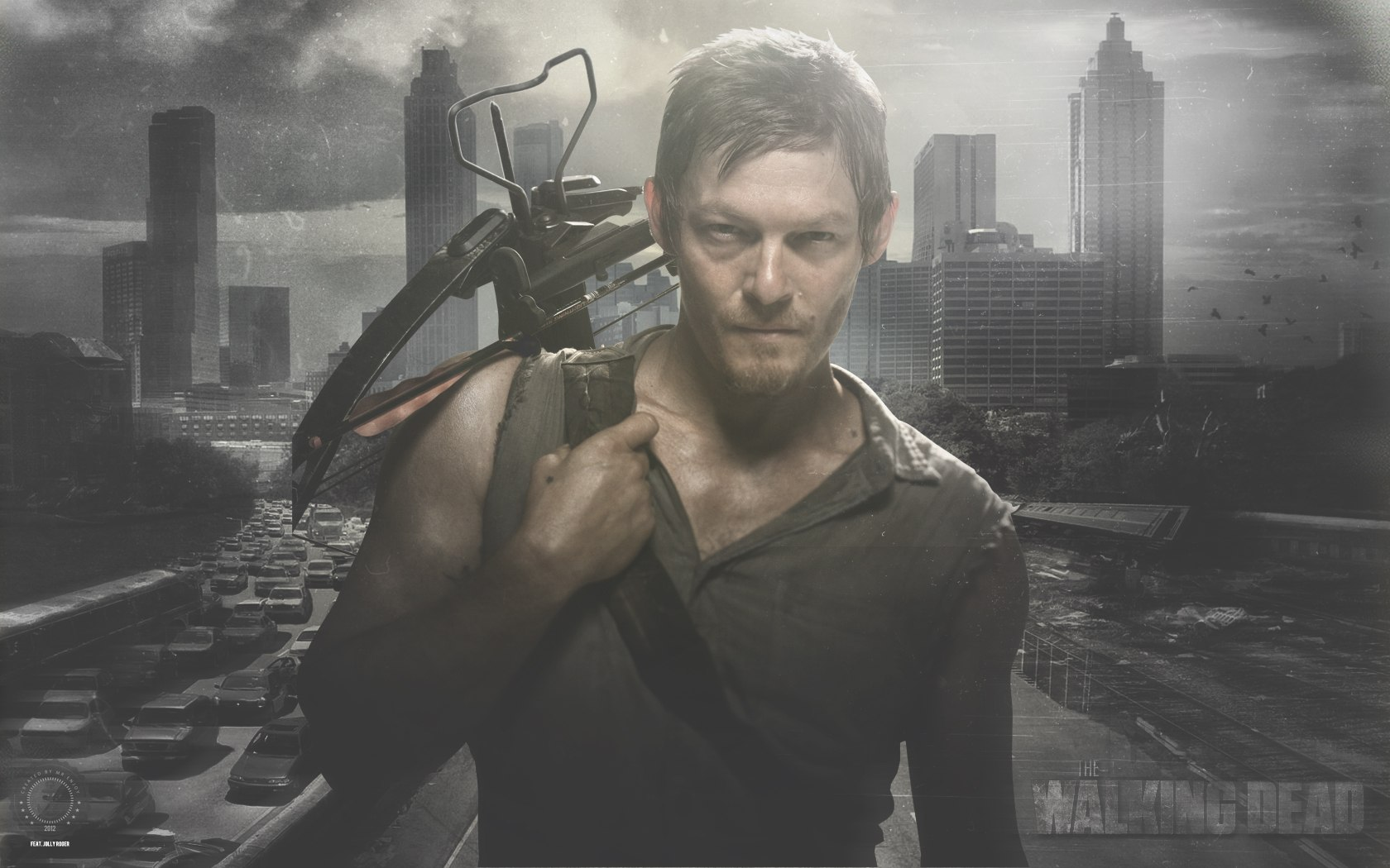 daryl dixon and how i learned to love the crossbow the gce. Black Bedroom Furniture Sets. Home Design Ideas
