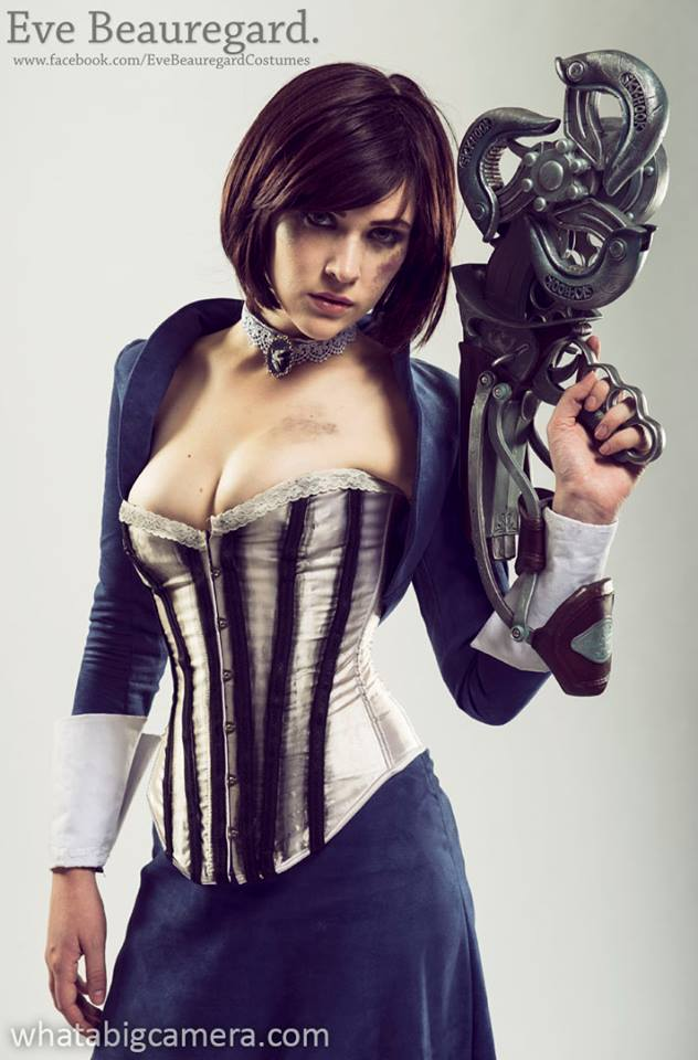Eve Beauregard as Elizabeth (Bioshock) Photography by What a Big Camera