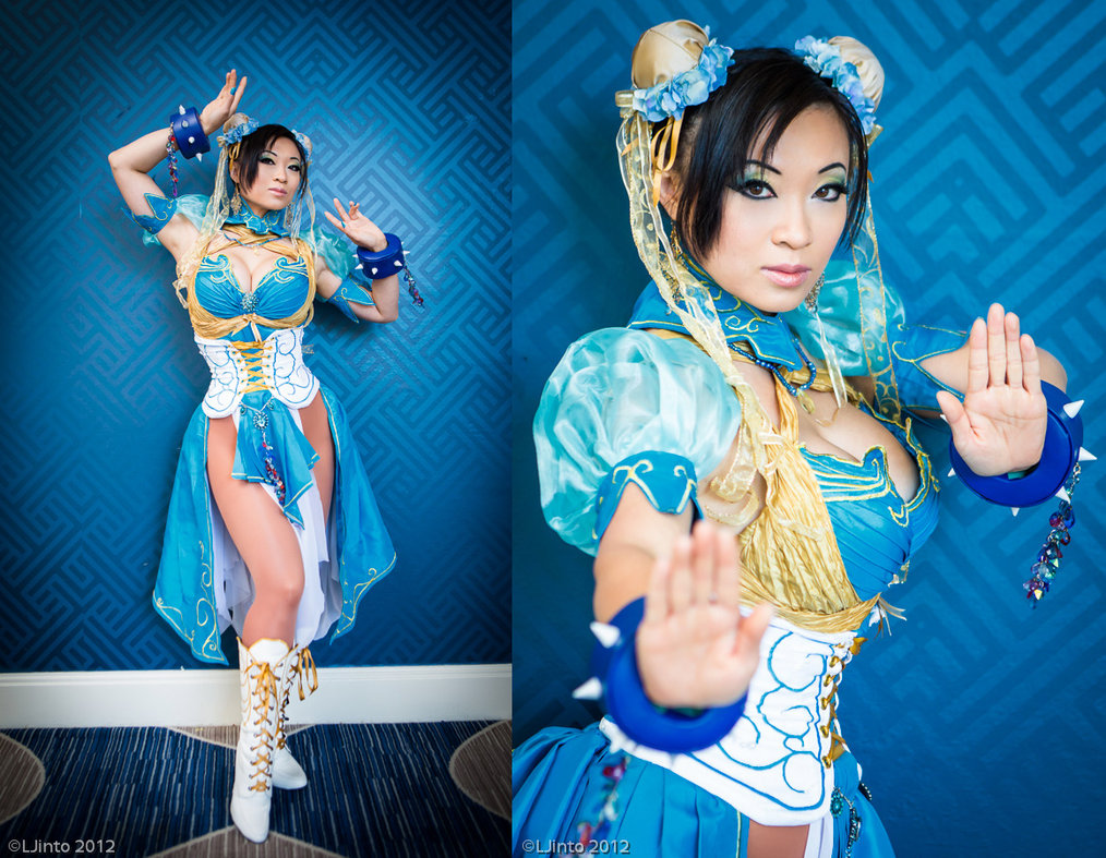 Chun Li - Art Nouveau Design Photography by LJinto Costume Design by razvan-sedekiah on DeviantArt