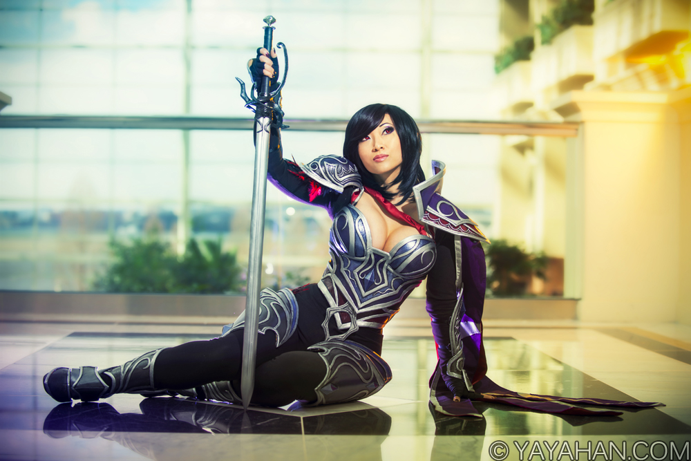 Fiora - Nightraven skin - League of Legends Costume by Yaya Han Photography by Martin Wong