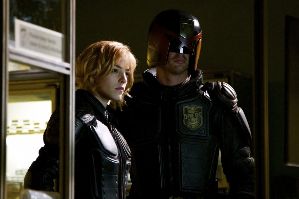 Olivia Thirlby as Anderson Karl Urban as Dredd