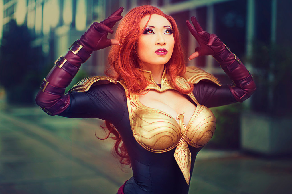 Phoenix 5 Jean Grey - Marvel: Avengers Alliance Costume by Yaya Han Photography by Anna Cosplay Photography Post-Production by Beethy