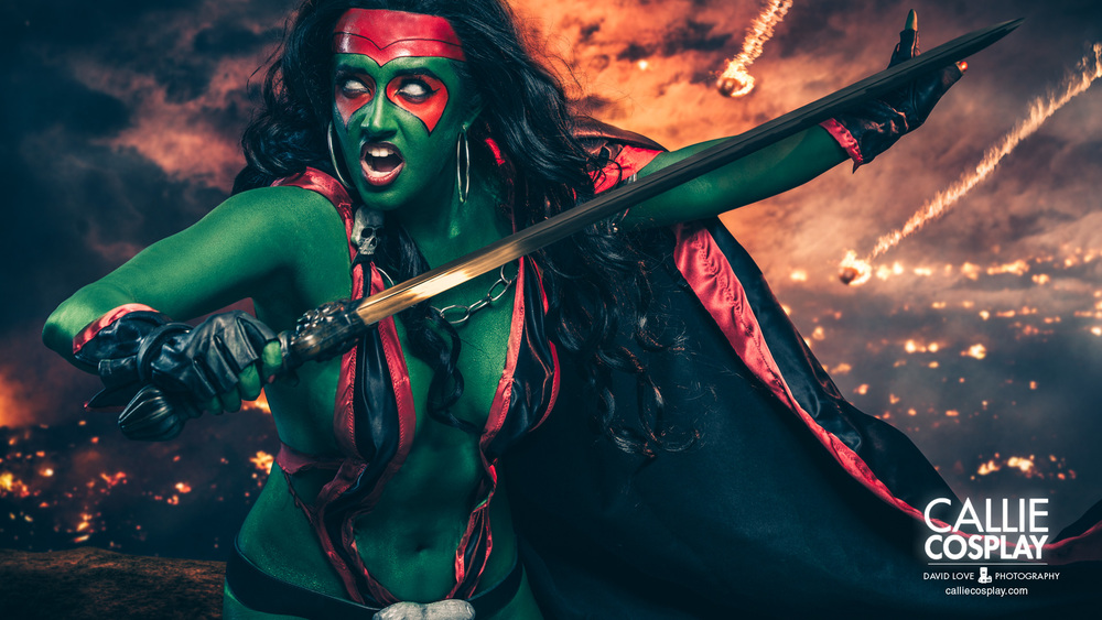 Gamora (Comic Version) by Callie Cosplay Photography by David Love Photography