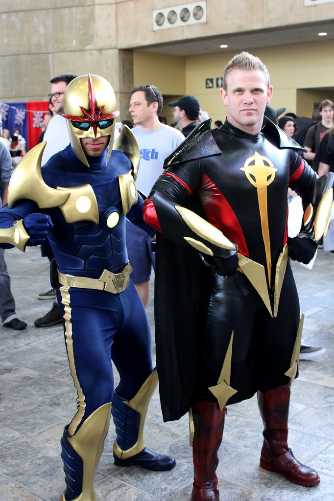 Nova Prime Cosplay by Cap Santiago Quasar Cosplayer Unknown Photographer Unknown